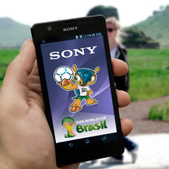 SONY XPERIA World Cup AR App